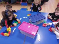 1º de Infantil con las construcciones